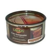 Cire des antiquaires black bison pâte - incolore - 500 ml - LIBERON