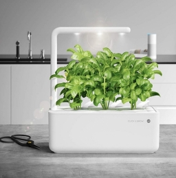Potager d'intérieur - Click & Grow - Smart Garden 3 - Blanc - EMSA