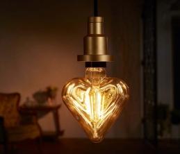 Ampoule LED à filament Coeur - Vintage Édition 1906 - E27 - 4.5 W - OSRAM