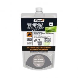 Colorant pour peinture - Doypack - 1 L - Gris platine - RICHARD