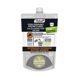 Colorant pour peinture - Doypack - 1 L - Vert provence - RICHARD