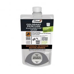 Colorant pour peinture - Doypack - 250 ml - Gris béton - RICHARD