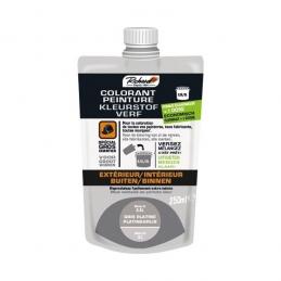 Colorant pour peinture - Doypack - 250 ml - Gris platine - RICHARD