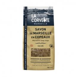 Copeaux de savon de Marseille - Olive - 750 Grs - LA CORVETTE