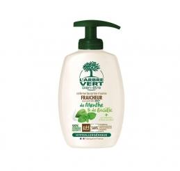 Crème lavante Mains Hydratante - Aux bienfaits d'aloé vera et extraits d'amande douce - 300 ml - L'ARBRE VERT