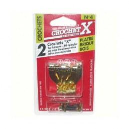 Crochet X N°4 - Crochet à tableau - CROCHET X