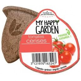 Capsule prête à planter - Tomate cerise - MY HAPPY GARDEN