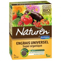Engrais universel - Super organique - 4 Kgs - NATUREN
