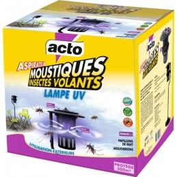 Aspirateur à moustiques / insectes volants - Lampe UV - Protection 300 m² - ACTO
