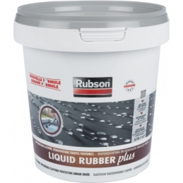 Imperméabilisant toitures - STOP fuite - Liquid Rubber - Gris - 750 ml - RUBSON