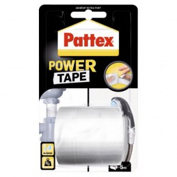 Adhésif super-puissant Power Tape Blanc - 5 m x 50 mm - PATTEX