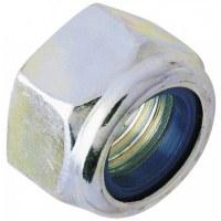Fix'Pro - Ecrou hexagonal indesserrable acier zingué 10 mm - Lot de 4 - FIX'PRO
