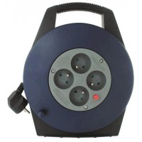 Enrouleur domestique - H05 VV-F 3G 1 mm² - Longueur 10 m - DHOME