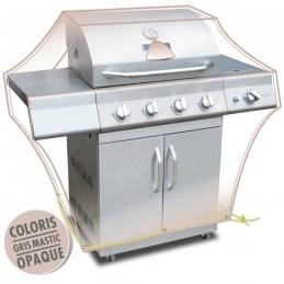 Housse de protection - Barbecue - Gris mastic - MOREL