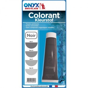 "Colorant universel ""Colortech"" - Noir - 60 ml - ONYX"