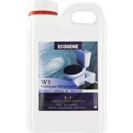W7 Nettoyant Détartrant - Entretien Wc broyeur - 2 L - ÉCOGENE