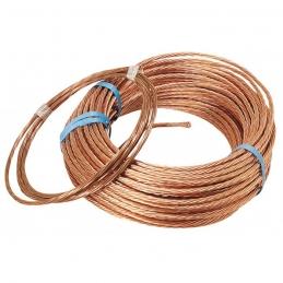 Couronne de 3 M de câble de terre - 25 mm²