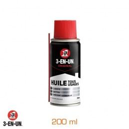 Huile - Formule professionnelle Double spray 200 ml - 3-EN-UN
