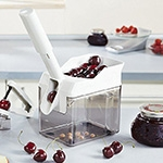 Dénoyauteur à cerises - Cherrymat - Blanc - LEIFHEIT