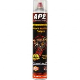Aérosol foudroyant Guêpes et frêlons - 750 ml - APE