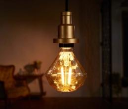 Ampoule LED à filament Diamond - Vintage Édition 1906 - E27 - 4.5 W - OSRAM