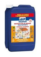 Traitement Anti Mousse 5L + 20% Gratuit - DIP ETANCH