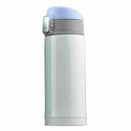 Mini bouteille isotherme Diva - Double paroi - Blanc - 20 cl - ASOBU