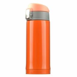 Mini bouteille isotherme Diva - Double paroi - Orange - 20 cl - ASOBU