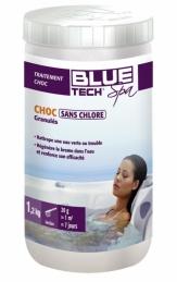 Brome choc sans chlore pour SPA - 1.2 Kg - BLUE TECH