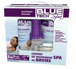 Coffret de traitement complet au brome pour spa - 2.2 Kg - BLUE TECH