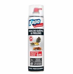 Insecticide longue portée - Spécial nids de guêpes et frêlons - Portée 6 m - 750 ml - KAPO