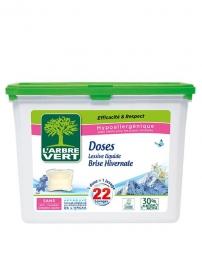 Doses de lessive au savon végétal - Brise végétale - L'ARBRE VERT