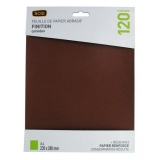 Papier Corindon 230 x 280 mm - Grain 120 - Lot de 4 - SCID