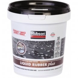 Imperméabilisant toitures - STOP fuite - Liquid Rubber - Noir - 750 ml - RUBSON