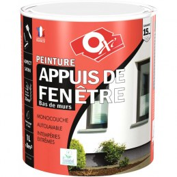 Peinture appuis de fenêtre - 1 L - Blanc - OXI