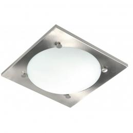 Plafonnier de salle de bain - Acier et verre - Vado - RANEX