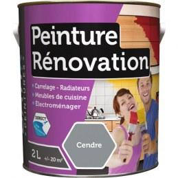 Peinture multi-surfaces - Rénovation - 2 L - Cendre - BATIR