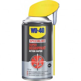 Super dégrippant à action rapide - 250 ml - WD-40 Spécialist