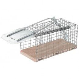Nasse à rats - Socle bois / grillage galvanisé