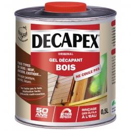 Décapant minute Bois - Non noircissant - 0.5 L - DECAPEX