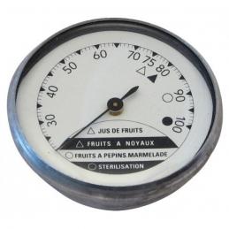 Thermomètre à aiguille pour stérilisateur - 0 à 100 °C - STIL