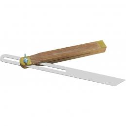 Fausse équerre avec talon en bois - 250 mm - OUTIBAT