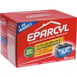 Activateur biologique pour fosse septique - 54 doses - EPARCYL