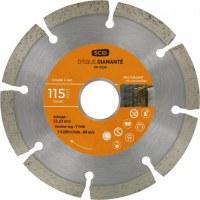 Disque diamant - Couronne segmentée - 115 mm - SCID