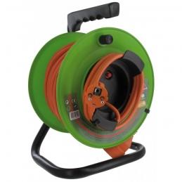 Enrouleur de jardin - 25 M - H05 VV-F 3G 1,5 mm² - DHOME