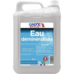 Eau déminéralisée - Anticalcaire et antitartre - 5 L - ONYX