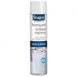 Nettoyant brillant express - Sanitaire - Aérosol 600 ml - STARWAX