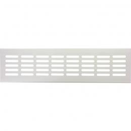 Grille de ventilation à encastrer - métal - 300 x 80 x 9.5 mm - Aluminium - DMO