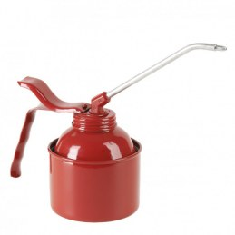 Burette en métal - Bec rigide - Rouge - 250 ml - PRESSOL