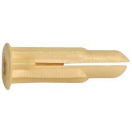 Cheville crampon avec collerette-plastique - Ø 2 à 5 mm - Lot de 100